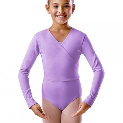 KARSD Lavender X-Over Cotton Ballet Wrap