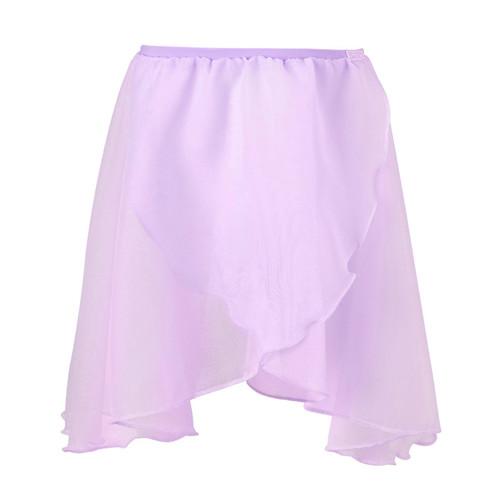 Felton Fleet Lilac Chiffon Wrap Skirt