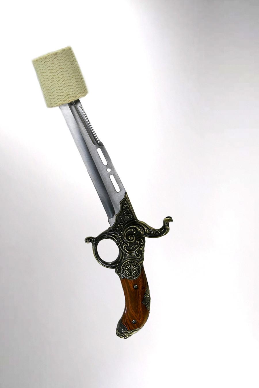 Gunslinger - Fire Breathing Torch