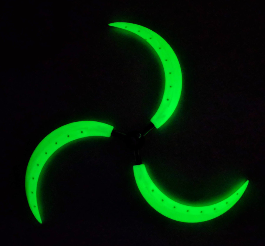 Glow-In-The-Dark White