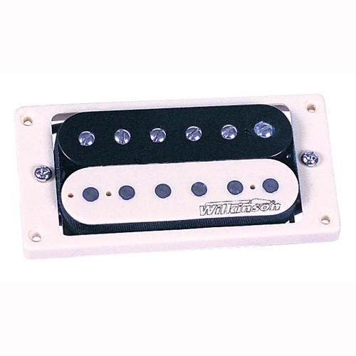 <p>In stock and ready to ship at MorMusic</p><p>Seen it cheaper elsewhere? We'll aim to match or beat any like for like price!</p>While the original spec for Humbucker bobbins was black, a shortage of these items on the production line in the 1950s resulted in bobbins being sourced in virgin material (ivory coloured plastic), hence when guitarists started to remove their brass covers, they discovered that some guitars contained what have become known as Zebra pickups. Some people believe these are the best sounding double coil pickups ever. Trev just think they look great, and by using the same windings as the WVC pickup, they are as authentic sounding as anything currently available.