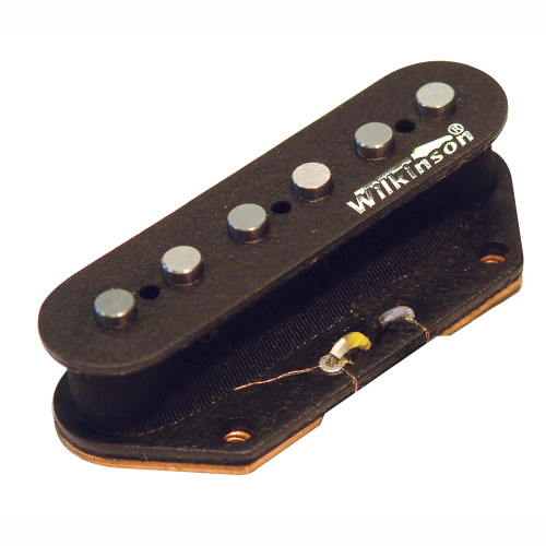 Open bridge pickup with raised polepieces for that extra bite. Match with WVTN for the classic combination has been used for the last 40 years to create all styles of music from Country to Rock, Blues and even Jazz.