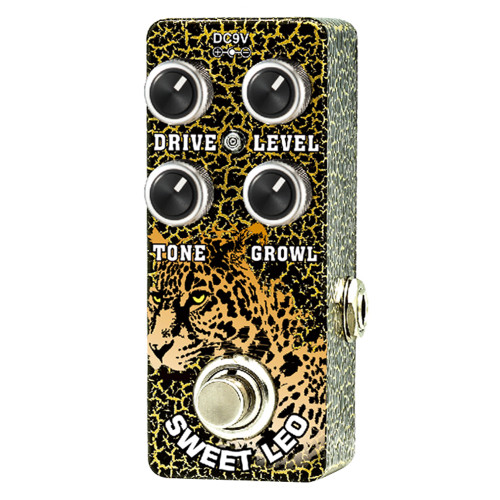 <p>In stock and ready to ship at MorMusic</p><p>Seen it cheaper elsewhere? We'll aim to match or beat any like for like price!</p><p>XVIVE SWEET LEO MICRO OVERDRIVE BY THOMAS BLUG</p> <p><span>Xvive Sweet Leo overdrive allows you to blend a cleaner more elegant overdrive characteristic with shimmering bell type hi-end known from Class A tube amplifiers, to the raunchy and &ldquo;dirty&rdquo; overdrive sound, known from cranked up good old tweed amps.</span><br /><br /><span>Designed to be more than a rhythm guitar pedal, it has a tight low end and pulsing clarity even on high gain settings, you can hear the original tone even with the drive on full.</span><br /><br /><span>Roll back the level pulling the volume on the tone for a clean boost.&nbsp;</span><br /><br /><span>Xvive Sweet Leo overdrive allows you to blend a cleaner more elegant overdrive characteristic with shimmering bell type hi-end known from Class A tube amplifiers, to the raunchy and &ldquo;dirty&rdquo; overdrive sound, known from cranked up good old tweed amps.</span><br /><br /><span>Designed to be more than a rhythm guitar pedal, it has a tight low end and pulsing clarity even on high gain settings, you can hear the original tone even with the drive on full.</span><br /><br /><span>Roll back the level pulling the volume on the tone for a clean boost.&ndash;&nbsp;takes&nbsp;a&nbsp;sharp&nbsp;distortion&nbsp;and&nbsp;gives&nbsp;it&nbsp;some&nbsp;extra&nbsp;room</span><br /><br /><span>Foot&nbsp;Switch&nbsp;toggle&nbsp;effects&nbsp;on/bypass&nbsp;(blue&nbsp;LED&nbsp;&ldquo;on&rdquo;&nbsp;indicator)</span></p>