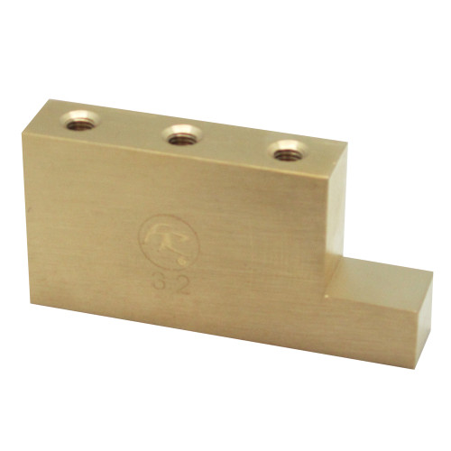 "<p>In stock and ready to ship at MorMusic</p><p>Seen it cheaper elsewhere? We'll aim to match or beat any like for like price!</p>Official Floyd Rose L Shaped Fat Brass upgradable Sustain Blocks for Floyd Rose Tremolo units. Studies have shown that Mass = Sustain. The all new Fat Brass ""L"" shaped sustain blocks by Floyd Rose have been specifically designed to take advantage of the unused area under the tremolo arm. By incorporating an additional ""L"" shape of brass to the design of a stock sustain block, Floyd Rose has been able to utilize this previously unused space for additional mass which equates to more sustain and additional tonal qualities of brass. Brass has been a much desired material for guitar luthiers dating back to the invention of the instrument; it is notorious for increasing warmth and clarity simultaneously, a rare combination. While greatly strengthening chord clarity and beefing up individual notes, it also greatly improves resonance, especially in the midrange of the instrument. All of these improvements are accompanied with the undeniablyåÊvintage sound and feel of this time-tested material. Since this block is larger than a conventional sustain block, it can also limit upward travel of the tremolo and can be set to rest against the body in a blocked bridge configuration. For floating bridge setup this block may require some routing in the spring cavity. These blocks will fit the Original Series 6 & 7-string, Special Series & 1000 Series 6-string, and the 1000 Series Pro 6 & 7-string tremolos."