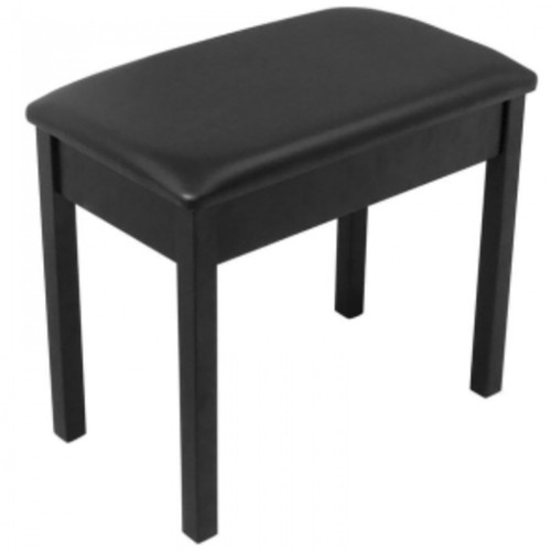 """<p>In stock and ready to ship at MorMusic</p><p>Seen it cheaper elsewhere? We'll aim to match or beat any like for like price!</p><p>ON STAGE WOODEN PIANO/KEYBOARD BENCH - BLACK</p> <p><span>Keyboard / Piano Bench</span><br /><br /><span>&bull; Classic keyboard/piano bench</span><br /><span>&bull; Quality wood construction</span><br /><span>&bull; 1.5"""" padded seat cushion with hidden air vents</span><br /><span>&bull; Bench size: 13&frac12;""""x 22&frac12;""""</span><br /><span>&bull; Height: 19&frac12;""""</span><br /><span>&bull; Black finish</span></p>"""