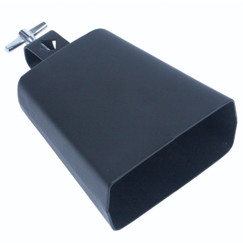 "<p>In stock and ready to ship at MorMusic</p><p>Seen it cheaper elsewhere? We'll aim to match or beat any like for like price!</p>Cowbell with mounting bracket. Wing screw fixing. Overall size 5"" / 13cm."