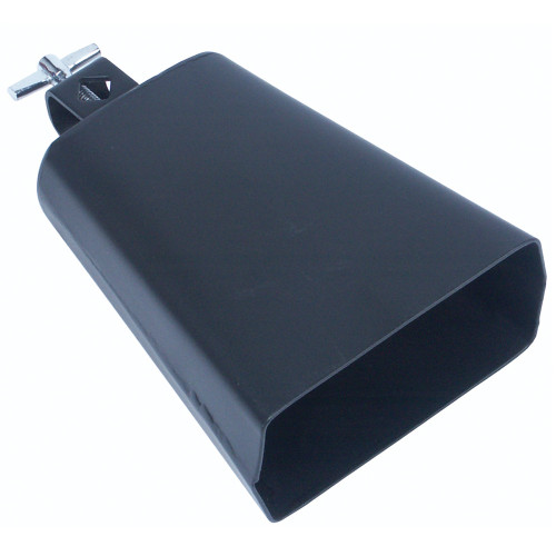 "<p>In stock and ready to ship at MorMusic</p><p>Seen it cheaper elsewhere? We'll aim to match or beat any like for like price!</p>Cowbell with mounting bracket. Wing screw fixing. Overall size 6"" / 20cm."