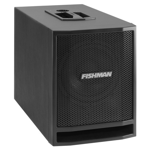 "<p>FISHMAN SA SUB - 300W</p> <p><span>Fishman SA Sub, 330W, 1x 8"" speaker, 109dB SPL @ 1 meter, 2x XLR/jack inputs, 2x XLR full range pass-through outputs, adjustable low pass filter, switchable low frequency extension, phase invert switch, output ground lift switch, dimensions: 346mm x 262mm x 503mm, weight: 12,38kg</span></p>"