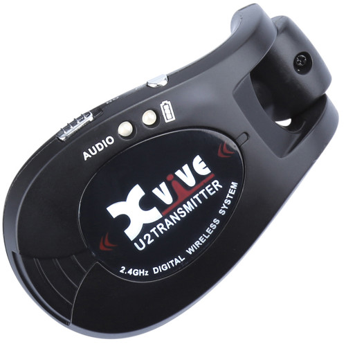 <p>In stock and ready to ship at MorMusic</p><p>Seen it cheaper elsewhere? We'll aim to match or beat any like for like price!</p>XVIVE WIRELESS GUITAR TRANSMITTER ONLY - BLACK