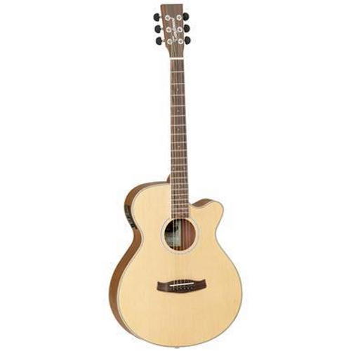 <p>In stock and ready to ship at MorMusic</p><p>Seen it cheaper elsewhere? We'll aim to match or beat any like for like price!</p><p>Tanglewood recognise that to introduce people to music an instrument must have a high build quality, good playability, attractive cosmetics and as many features as possible to encourage and reward aspiring musicians. Using this design brief, Tanglewood luthiers created the Discovery Acoustic series, a whole range of genuine musical instruments which feature 3 band EQ systems with stage backlighting, delicate 2mm fingerboard dots, black soft touch machine head buttons and understated sound hole rosettes, all aimed at bringing the specification of a much more expensive instrument into the entry level market.</p>