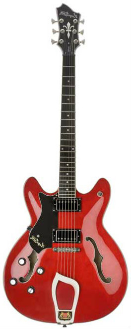 """<div class=""""box-collateral box-description product-overview col-md-9""""> <div class=""""std prod-description""""> <p>The Hagstrom Viking Lefthand Wild Cherry Transparent is a semi-hollow electric guitar capable of many different styles of music. This excellent guitar is very well made, sounds great and has some beautiful detailing on the cosmetic front. The Hagstrom Viking is a fantastic all-rounder and it's nice to see a quality left handed semi acoustic guitar at this price point.</p> <p>PRODUCT DETAILS</p> </div> </div> <div class=""""box-collateral box-additional product-overview product-details col-md-3""""> <div class=""""std""""> <div> <ul> <li>MODEL:&nbsp;<span>Hagstrom Viking Left hand Wild Cherry Transparent</span></li> <li>PRODUCT CODE:&nbsp;<span>49VIKLWCT</span></li> <li>BODY:&nbsp;<span>Contoured Ply Maple</span></li> <li>NECK:&nbsp;<span>Canadian Hard Maple, set</span></li> <li>FINGERBOARD:&nbsp;<span>Resinator Wood with Hagstrom 6mm Dot Position Marks</span></li> <li>TRUSS ROD:&nbsp;<span>H-Expander</span></li> <li>TUNING KEYS:&nbsp;<span>Hagstrom 18</span>1 DIE CAST:</li> <li>SCALE LENGTH:&nbsp;<span>24,75"""" / 628 mm</span></li> <li>PICKUPS:&nbsp;<span>2 x Hagstrom HJ-50</span></li> <li>PICKUP SELECTOR:&nbsp;<span>3-Way Toggle</span></li> <li>BRIDGE:&nbsp;<span>Long Travel Tune-O-Matic w/ Hagstrom Trapeze Tail Piece</span></li> <li>CONTROLS:&nbsp;<span>2 x Volume / 2 x Tone</span></li> </ul> </div> </div> </div>"""