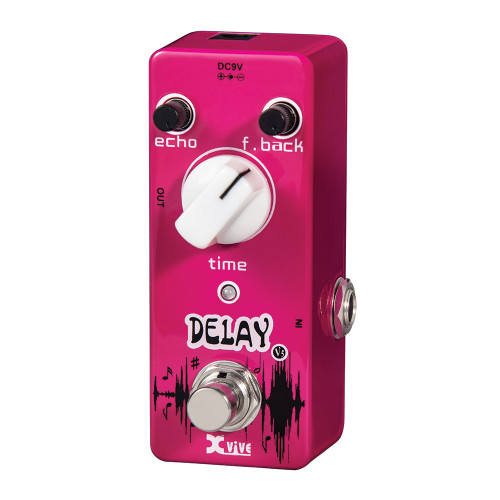 <p>In stock and ready to ship at MorMusic</p><p>Seen it cheaper elsewhere? We'll aim to match or beat any like for like price!</p><p>Smooth, warm, vintage delay sounds?. Echo, feedback and time controls? True bypass? 9V DC power supply required? Current Draw: 10mA? Compact, rugged metal chassis</p>
