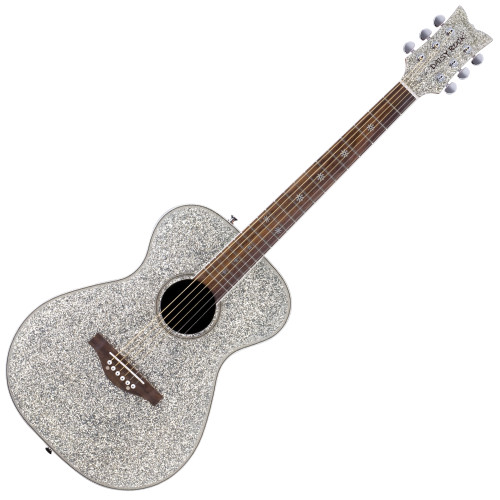 <p><span>&bull;&nbsp;Daisy Rock&rsquo;s exclusive &ldquo;Slim &amp; Narrow&rdquo; neck design makes it easier for girls with smaller hands to play the guitar.&nbsp;</span><br /><span>&bull;&nbsp;Lightweight construction makes the guitar easier to manage and more comfortable to play.&nbsp;</span><br /><span>&bull;&nbsp;Constructed with a durable composite oval back.&nbsp;</span><br /><span>&bull;&nbsp;Arrives set up, ready to play, and is backed by a limited lifetime warranty.</span><br /><br /><span>The Pixie Acoustic guitar is a full scale instrument designed especially for girls. This dazzling sparkle-finished guitar is lightweight and it sounds great! It features Daisy Rock&rsquo;s trademark &ldquo;Slim &amp; Narrow&rdquo; neck which makes it easier for girls with smaller hands to play. Its durable composite oval back and spruce top produce a rich tone, and its slightly smaller sized body fits girls just right, making it extremely comfortable to play. All Daisy Rock guitars include a limited lifetime warranty, arrive set up, and are ready to play. What are you waiting for&mdash;get your Daisy Rock Pixie Acoustic guitar today, and start rocking the world!</span></p>