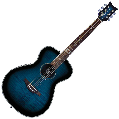<p>DAISY ROCK PIXIE ELECTRO ACOUSTIC - BLUEBERRY BURST</p>