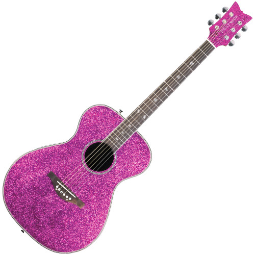 <p><span>&bull;&nbsp;Daisy Rock&rsquo;s exclusive &ldquo;Slim &amp; Narrow&rdquo; neck design makes it easier for girls with smaller hands to play the guitar.&nbsp;</span><br /><span>&bull;&nbsp;Lightweight construction makes the guitar easier to manage and more comfortable to play.&nbsp;</span><br /><span>&bull;&nbsp;Includes a Daisy custom piezo preamp/pickup system with built-in electronic tuner.&nbsp;</span><br /><span>&bull;&nbsp;Arrives set up, ready to play, and is backed by a limited lifetime warranty.</span><br /><br /><span>The Pixie Acoustic/Electric guitar is a full scale instrument designed especially for girls. This beautiful guitar is lightweight and it sounds great! It features Daisy Rock&rsquo;s trademark &ldquo;Slim &amp; Narrow&rdquo; neck which makes it easier for girls with smaller hands to play. The Pixie Acoustic/Electric guitar highlights innate femininity, uncompromised quality, and even has a built-in electronic tuner for your convenience. This guitar produces a rich tone, and its slightly smaller sized body fits girls just right. It also includes a Daisy custom piezo preamp/pickup system so you can plug into an amp, crank it up, and rock the stage! All Daisy Rock guitars arrive set up, ready to play, and are backed by a limited lifetime warranty. What are you waiting for&mdash;get your Pixie Acoustic/Electric guitar today and start finding endless ways to express your own musical muse!</span></p>