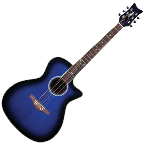 <p>DAISY ROCK WILDWOOD ARTIST ELECTRO ACOUSTIC - ROYAL BLUE BURST</p>