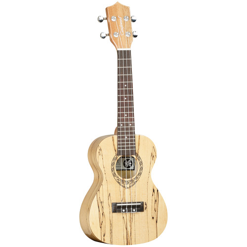 """<p>In stock and ready to ship at MorMusic</p><p>Seen it cheaper elsewhere? We'll aim to match or beat any like for like price!</p><p>The Tanglewood Tiare TWT10 is surely one of the most visually attractive and unique instruments in the whole range. A concert size instrument in high gloss finish, this ukulele has timbers crafted from exotic Spalt Maple. Spalt Maple is a term used in manufacturing, derived from the words&nbsp;""""spoilt Maple"""" and it has a very unique claim to fame. This timber has been retrieved from mountain lakes and creeks, where for generations it has laid submerged in water and gradually taken on a unique grain identity, noticeable by the striking ebony marks on the otherwise pale maple timber. Retrieved, seasoned and kiln dried for precise manufacturing, Spalt Maple is a very unique and rare timber that has a great story to tell and its cosmetic is without doubt a key part of its popularity. The TWT10 has the Tiare trademark """"Fiddleback"""" contouring on the rear of the body for increased sound projection and enhanced tonality and is fitted as standard with the class leading Aquila strings from Italy. If you want a concert ukulele which quite possibly began its life as a Maple tree over three hundred years ago and has been weathered and aged by natural elements into the work of art cosmetic you see on our images, then this is the instrument for you.</p> <ul> <li><span>SHAPE:</span>&nbsp;Concert</li> <li><span>TOP:</span>&nbsp;Spalt Maple</li> <li><span>BACK:&nbsp;</span>Spalt Maple, Arched</li> <li><span>SIDES:</span>&nbsp;Spalt Maple</li> <li><span>NECK (MATERIAL):</span>&nbsp;Okoume</li> <li><span>FINGERBOARD:</span>&nbsp;Techwood</li> <li><span>BRIDGE:</span>&nbsp;Techwood</li> <li><span>BINDING:&nbsp;</span>None</li> <li><span>SADDLE:</span>&nbsp;ABS Ivory White</li> <li><span>NUT:</span>&nbsp;ABS Ivory White (35mm)</li> <li><span>SCALE LENGTH:</span>&nbsp;384mm</li> <li><span>MACHINE HEADS:</span>&nbsp;Die cast Chrome</li> <li><span>EQ:</span>&n"""