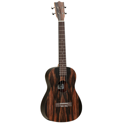 <p>In stock and ready to ship at MorMusic</p><p>Seen it cheaper elsewhere? We'll aim to match or beat any like for like price!</p><p>Tanglewood Tiare ukuleles have been researched and developed with patience and diligence. With influences from Polynesia, the name itself is taken from the national flower of Tahiti, capturing the essence of the South Pacific ensuring the Tiare models exemplify an authentic and traditional representation of the art of the ukulele. The Tiare ukuleles are made up of a contrasting range of exotic materials, from stunning Black Walnut to Figured Hawaiian Koa tone woods, specially selected by Tanglewood to have beautiful figuring in the grain to make each instrument unique. Every ukulele features a luxury åÒfiddlebackåÓ contoured back for increased sound projection and volume and Aquila strings, usually found on only the most professional high priced instruments as standard equipment. Models are also fitted with neck truss rods, along with chrome metal machine heads for precise tuning.</p> <ul> <li><span>SHAPE:</span>&nbsp;Baritone</li> <li><span>TOP:</span>&nbsp;Ebony</li> <li><span>BACK:&nbsp;</span>Ebony, Arched</li> <li><span>SIDES:</span>&nbsp;Ebony</li> <li><span>NECK (MATERIAL):</span>&nbsp;Okoume</li> <li><span>FINGERBOARD:</span>&nbsp;Natural Wood</li> <li><span>BRIDGE:</span>&nbsp;Natural Wood</li> <li><span>BINDING:&nbsp;</span>None</li> <li><span>SADDLE:</span>&nbsp;ABS Ivory White</li> <li><span>NUT:</span>&nbsp;ABS Ivory White (35mm)</li> <li><span>SCALE LENGTH:</span>&nbsp;512mm</li> <li><span>MACHINE HEADS:</span>&nbsp;Die cast Chrome</li> <li><span>FINISH:</span>&nbsp;Natural Satin</li> <li><span>EQ:</span>&nbsp;N/A</li> <li><span>STRINGS:</span>&nbsp;Aquila Nylgut</li> <li><span>SUGGESTED TUNING:</span>&nbsp;D-G-B-E</li> <li><span>SKU:</span>&nbsp;TWT20</li> <li><span>RANGE:</span>&nbsp;Tiare</li> <li><span>UPC:</span>&nbsp;810944012782</li> </ul> <p><em>*Natural Wood in accordance with Cities regulations</em></p>
