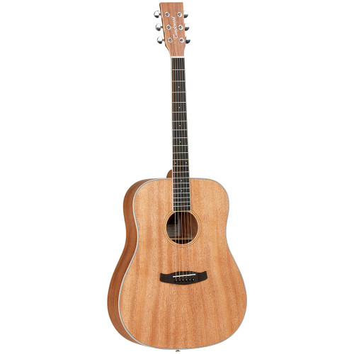 <p>In stock and ready to ship at MorMusic</p><p>Seen it cheaper elsewhere? We'll aim to match or beat any like for like price!</p><p>The Tanglewood Union series guitars are a range of class leading, quality driven Solid top guitars, created to excite and amaze consumers with outstanding value and ultra competitive pricing. Constructing Union from classic Mahogany tone woods, with premium cosmetic grade Solid African Mahogany tops, each Union model has maple hardwood binding to the body front and headstock, with a maple inlay forming the soundhole rosette. This contrast of rich mahogany and cream maple really makes the guitar stand out visually and we hope will become as iconic for Union and Tanglewood as the Whiskey Barrel finish has been on Crossroads. WeåÕve chosen a Korean made classic chrome machinehead for precise tuning and a fabulous new rosewood alternative fingerboard material åÒEboncoreåªåÒ. This exciting new material is a contemporary simulated Ebony product which has outstanding cosmetic clarity matched with the robust density of heritage Ebony timber. The Eboncoreåª fingerboards will lend ever greater stability to the necks and hold the frets even tighter, giving Union series models class leading intonation and playing actions.</p> <ul> <li><span>SHAPE:</span>&nbsp;Dreadnought</li> <li><span>TOP:</span>&nbsp;Solid Mahogany</li> <li><span>BACK:</span>&nbsp;Mahogany</li> <li><span>SIDES:</span>&nbsp;Mahogany</li> <li><span>NECK (MATERIAL):</span>&nbsp;Mahogany</li> <li><span>FINGERBOARD:</span>&nbsp;Eboncore</li> <li><span>BRIDGE:</span>&nbsp;Black Walnut</li> <li><span>BINDING (TOP):</span>&nbsp;ABS Black/White</li> <li><span>BINDING (SIDE):</span>&nbsp;Maple</li> <li><span>ROSETTE:</span>&nbsp;Maple</li> <li><span>SADDLE:</span>&nbsp;ABS Ivory</li> <li><span>NUT (WIDTH):</span>&nbsp;ABS White (43mm)</li> <li><span>SCALE LENGTH:</span>&nbsp;650mm</li> <li><span>BRIDGE PINS:</span>&nbsp;ABS Ivory&nbsp;with Black Dots</li> <li><span>MACHINE HEADS:</span>&n