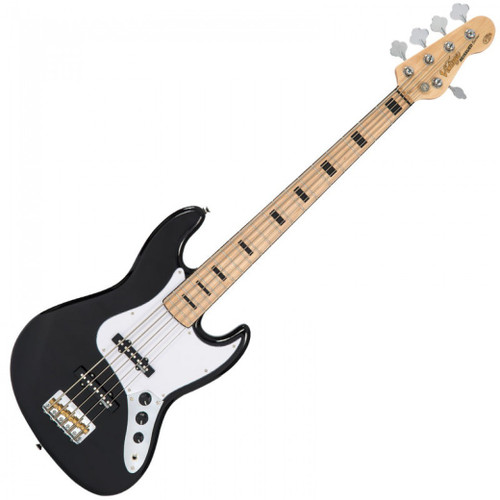 <p>In stock and ready to ship at MorMusic</p><p>Seen it cheaper elsewhere? We'll aim to match or beat any like for like price!</p><p><span>With its gorgeous 5-string maple neck and fingerboard with chunky black block inlays the VJ75M also features Wilkinson hardware, including two full-toned, crisp and clear bass pickups, that give the player wonderful tonal variations and awesome playability.</span></p>