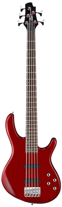 """<p>In stock and ready to ship at MorMusic</p><p>Seen it cheaper elsewhere? We'll aim to match or beat any like for like price!</p><div class=""""row""""> <div class=""""col-xs-12"""">Affordable but loaded with quality materials, components and craftsmanship, the Action Series basses define value for the aspiring bass player with versatile features as PJ, JJ and soapbar pickup options and active EQ electronics.</div> </div> <div class=""""row""""> <div class=""""col-xs-12""""> <h3>Specification</h3> <table> <tbody> <tr><th>CONSTRUCTION</th> <td>Bolt-On</td> </tr> <tr><th>CUTAWAY</th> <td>Double Cutaway</td> </tr> <tr><th>BODY</th> <td>Poplar</td> </tr> <tr><th>NECK</th> <td>Canadian Hard Maple</td> </tr> <tr><th>FRETBOARD</th> <td>Rosewood Fingerboard</td> </tr> <tr><th>FRETS</th> <td>24</td> </tr> <tr><th>SCALE</th> <td>34""""(864mm)</td> </tr> <tr><th>INLAY</th> <td>White Dots</td> </tr> <tr><th>TUNERS</th> <td>Diecasting Tuners</td> </tr> <tr><th>BRIDGE</th> <td>EB6(5) Bridge</td> </tr> <tr><th>PICKUPS</th> <td>PSEB1-5/F &amp; PSEB1-5/R Pickups</td> </tr> <tr><th>ELECTRONICS</th> <td>2 Band Active EQ</td> </tr> <tr><th>HARDWARE</th> <td>Chrome Hardware</td> </tr> <tr><th>STRINGS</th> <td>5 Strings</td> </tr> </tbody> </table> </div> </div>"""