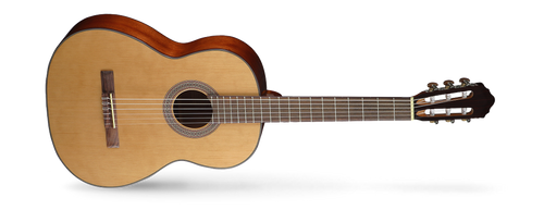 <p>In stock and ready to ship at MorMusic</p><p>Seen it cheaper elsewhere? We'll aim to match or beat any like for like price!</p>The traditional style AC models have been re-engineered to improve resonance for an authentic classical guitar sound. The nice combination of tone-woods yields a traditional, deep and delightfully mellow tone. Cort AC series is very forgiving of student mistakes,requiring slightly less precision and sharpness for a good tone.