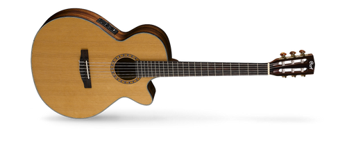 <p>In stock and ready to ship at MorMusic</p><p>Seen it cheaper elsewhere? We'll aim to match or beat any like for like price!</p>The Classic Series features two distinctive types of models: the traditional Spanish-style nylon-string AC models and hybrid nylon-string CEC models that borrow from steel-string cutaway acoustic-electrics with cutaways, narrower nut width, and Fishman electronics. The traditional style AC models have been re-engineered to improve resonance for an authentic classical guitar sound while the CEC models feature slim body with cutaway, 45mm nut width and electronics for steel-string players who love the nylon-string sound.
