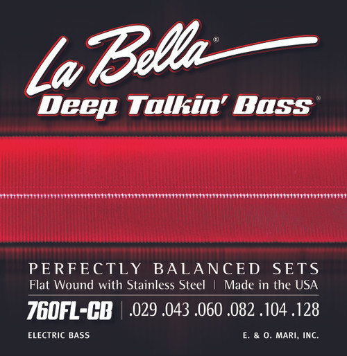 <p>In stock and ready to ship at MorMusic</p><p>Seen it cheaper elsewhere? We'll aim to match or beat any like for like price!</p>760FL-CB Deep Talkin' Bass, Flat Wound Light, 6-String - 29-128