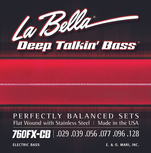 <p>In stock and ready to ship at MorMusic</p><p>Seen it cheaper elsewhere? We'll aim to match or beat any like for like price!</p>760FX-CB Deep Talkin' Bass, Flat Wound, 6-String - Extra Light 29-128