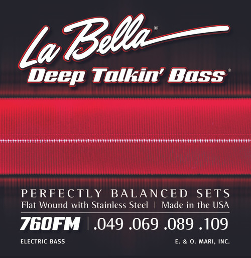 <p>In stock and ready to ship at MorMusic</p><p>Seen it cheaper elsewhere? We'll aim to match or beat any like for like price!</p>760FM Deep Talkin' Bass, Flat Wound - Medium 49-109