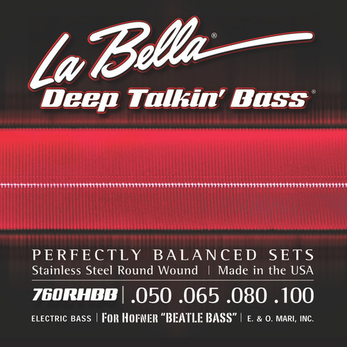 <p>In stock and ready to ship at MorMusic</p><p>Seen it cheaper elsewhere? We'll aim to match or beat any like for like price!</p>760RHBB Beatle Bass Stainless Steel Round Wound - 50-100
