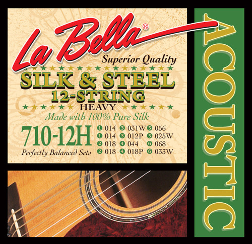 <p>In stock and ready to ship at MorMusic</p><p>Seen it cheaper elsewhere? We'll aim to match or beat any like for like price!</p>710-12H 12-String Silk & Steel - Heavy