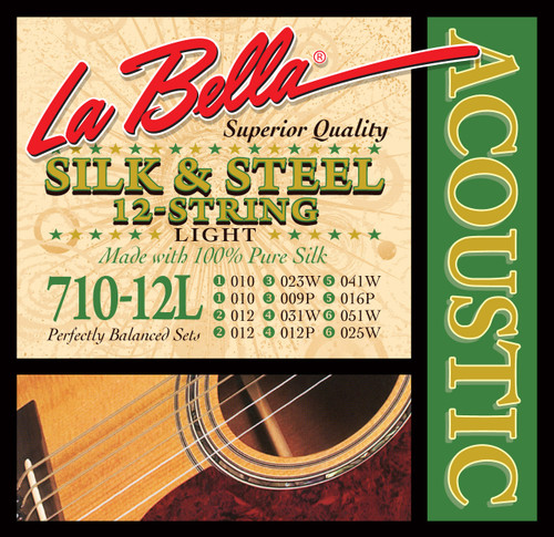 <p>In stock and ready to ship at MorMusic</p><p>Seen it cheaper elsewhere? We'll aim to match or beat any like for like price!</p>710-12L 12-String Silk & Steel - Light