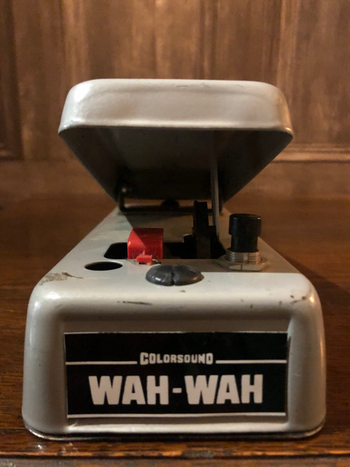 <p>In stock and ready to ship at MorMusic</p> <p>Seen it cheaper elsewhere? We'll aim to match or beat any like for like price!</p> <p>Colorsound Wah Wah 1970's. Please study the photographs carefully as these form part of the description.</p>