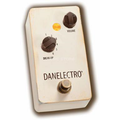 """<p>In stock and ready to ship at MorMusic</p><p>Seen it cheaper elsewhere? We'll aim to match or beat any like for like price!</p><div class=""""row""""> <div class=""""subheadline col-xsp-12 h2"""">Overdrive effect pedal with six fixed gain settings</div> <div class=""""module module-5 col-xsp-12"""" data-fullsize=""""true""""> <div class=""""col-xsp-12""""> <div class=""""contentText""""> <p>The&nbsp;<span>Danelectro The Breakdown</span>&nbsp;is an overdrive pedal with a strong character, whose roots are clearly to be found in the classical rock of the '60s and '70s. The analog circuit offers six fixed gain settings for a wide range of different sounds between breaking crunch and juicy distortion. In addition, a volume control is available to adjust the output volume. Last but not least, the Danelectro The Breakdown comes in a hip Relic look.</p> </div> </div> </div> <div class=""""module module-5 col-xsp-12 col-xlg-6""""> <div class=""""col-xsp-12""""> <div class=""""contentText""""> <h3>The Danelectro The Breakdown:</h3> <ul> <li>Overdrive effect pedal for electric guitar</li> <li>Analog circuit</li> <li>Six fixed gain settings via break-up rotary switches</li> <li>Volume control</li> <li>True Bypass</li> <li>Soft-Switch foot switch</li> <li>Metal housing in Relic look</li> <li>Operation with&nbsp;<span data-id=""""SKU"""" data-target=""""_self"""" data-product-sku=""""ACC0005925-000"""">optionally available supply unit<br /></span></li> </ul> </div> </div> </div> <div class=""""module module-6 col-xsp-12 col-xlg-6""""> <div class=""""col-xsp-12""""><img class=""""img-responsive"""" src=""""https://www.dv247.com/INTERSHOP/static/WFS/MusicStore-Site/MusicStoreShop/MusicStore-MusicStoreShop/de_DE/longtext/GIT0050049-000/Danelectro-The-Breakdown.jpg"""" alt=""""DANELECTRO The Breakdown"""" /></div> </div> </div> <div class=""""row feature-box""""> <div class=""""col-md-6 whitebox""""> <h3 class=""""nomarg"""">Features:</h3> <ul class=""""dottedlist""""> <li>Manufacturer: Danelectro</li> <li>Type: Overdrive</li> <li>Design: Compact</li> <li>Number of Channels: 1</li> <li>Stereo: No</li> <l"""
