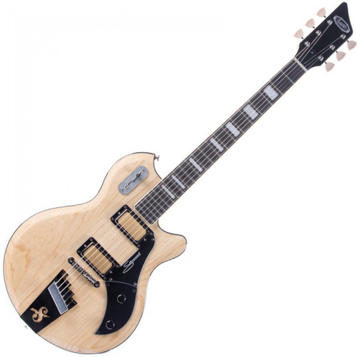 """<p>In stock and ready to ship at MorMusic</p> <p>Seen it cheaper elsewhere? We'll aim to match or beat any like for like price!</p> <p><span>The Supro Silverwood is a high-performance recreation of the instrument referred to as &ldquo;Supro&rsquo;s Finest Electric&rdquo; when it was introduced in the 1960 catalog. In keeping with the flagship mentality embodied in the original model, the new Silverwood is constructed with select tone woods, ergonomic body contours and premium hardware. The 2019 Supro Silverwood is offered with a choice of transparent finishes over a mahogany or ash body with a glued-in, set-neck joint for superior stability and easy access to the upper frets. The 24 &frac34;&rdquo;-scale maple neck has a smooth black satin finish on the back and Pau Ferro fretboard on top, with matching headstock, body and neck binding for maximum player comfort. The Silverwood&rsquo;s authentic Supro Gold Foil pickups provide high-output, broadband, single-coil tone with extremely low noise&mdash;offering up a sonic palette that covers a wide range of rock, blues, funk and R&amp;B styles.</span><br /><br /><span>Originally referred to as &ldquo;Clear Tone&rdquo; pickups when they were introduced by Supro in the mid 50s, the Gold Foil pickups found in the Silverwood guitar deliver hi-fidelity articulation at all frequencies, letting the character of the wood and the musician&rsquo;s hands shine through. 50&rsquo;s wiring on the Volume and Tone controls allow the player to use the volume knob without losing the top-end sparkle of the pickups, even when playing quietly. Every element of the Silverwood guitar has been carefully considered and selected to achieve world-class performance, while retaining the vibe of the mid-century American classic that set the standard for Supro electric guitars.</span></p> <table id=""""product-attribute-specs-table"""" class=""""data-table""""> <tbody> <tr class=""""first odd""""><th class=""""label"""">Colour</th> <td class=""""data last"""">Natural Ash</td> </tr"""