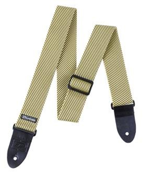 """<p>In stock and ready to ship at MorMusic</p><p>Seen it cheaper elsewhere? We'll aim to match or beat any like for like price!</p><p><span>THE CLASSIC! Adjustable Length From 38"""" to 65""""., 2"""" Wide, 100% Leather Ends The tweed Dunlop Guitar Strap features easily adjustable buckles comfortable edge webbing and 100% leather ends. The strap is 2 wide and the length is adjustable from 38 to 65.</span></p> <ul class=""""xpDPYb""""> <li class=""""KgL16d"""">Material: Textile</li> <li class=""""KgL16d"""">Colour: Brown</li> <li class=""""KgL16d"""">Width: 51 mm</li> <li class=""""KgL16d"""">Minimum Length: 97 cm</li> <li class=""""KgL16d"""">Maximum Length: 165 cm</li> </ul>"""