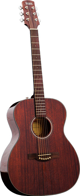 <p>In stock and ready to ship at MorMusic</p> <p>Seen it cheaper elsewhere? We'll aim to match or beat any like for like price!</p> <p>An all-mahogany acoustic with a high gloss solid mahogany top, layered mahogany back &amp; sides and a 3-piece mahogany neck. A solid mahogany top has been chosen to provide a warm and percussive mid-range tone.</p> <p>&nbsp;</p> <p>Supplied with a padded gigbag with 10mm thick padding, comfortable shoulder straps, carry handle and an accessory pouch.</p> <p>&nbsp;</p>
