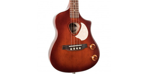 """<p>In stock and ready to ship at MorMusic</p><p>Seen it cheaper elsewhere? We'll aim to match or beat any like for like price!</p><h2>SEAGULL UKE STEEL SEMI GLOSS BURST EQ</h2> <p>At the intersection of original design and quality materials, you will find the Seagull Uke Steel SG Burst EQ. This fun-to-play steel Uke is made of a one-piece solid maple body with a solid spruce top; a wood combination that, along with liveliness of the steel strings, creates a boisterous sound with plenty of tonal definition. And thanks to the zero fret concept, where the strings sit directly and evenly on the fret (which acts as the nut), it is easy to maintain a better output balance between open and fretted strings across the fretboard. The Seagull Uke Steel SG also features a Burnt Umber semi-gloss finish, open-gear tuners, and custom Seagull electronics with easily accessible volume and tone controls at the lower bout.</p> <ul> <li>BACK &amp; SIDES / BODY:&nbsp;<span>Solid Maple</span></li> <li>TOP:&nbsp;<span>Solid Spruce</span></li> <li>NECK:&nbsp;<span>Solid Maple</span></li> <li>FINGERBOARD:&nbsp;<span>Rosewood</span></li> <li>SCALE LENGTH:&nbsp;<span>13 3/8"""" / 340 mm</span></li> <li>NUT WIDTH:&nbsp;<span>1 3/8"""" / 34 mm</span></li> <li>MACHINE HEADS:&nbsp;<span>Open-gear 14/1 ratio</span></li> <li>FINGERBOARD RADIUS:&nbsp;<span>Flat</span></li> <li>NUT MATERIAL:&nbsp;<span>TUSQ by Graphtech (with zero fret)&nbsp;</span></li> <li>BRIDGE TYPE:&nbsp;<span>Classical Tie, Rosewood</span></li> <li>PICKUPS:&nbsp;<span>Custom Seagull Electronics&nbsp;</span></li> <li>SWITCHES:&nbsp;<span>1 volume, 1 tone</span></li> <li>COLOUR:&nbsp;<span>Burnt Umber&nbsp;</span></li> <li>FINISH:&nbsp;<span>Semi-Gloss</span></li> <li></li> </ul>"""