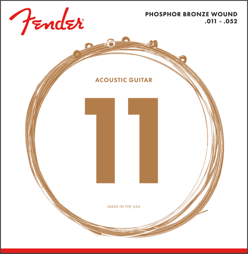 <p>In stock and ready to ship at MorMusic</p><p>Seen it cheaper elsewhere? We'll aim to match or beat any like for like price!</p><p><span>These phosphor bronze acoustic guitar strings deliver rich, warm tone with complex harmonics and excellent highs. Whether you're a singer-songwriter, performing solo or playing with a full band, there's no better way to show your personality than with long-lasting strings that offer balanced acoustic tone.</span></p>