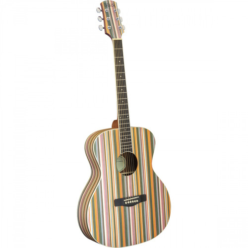 <p>In stock and ready to ship at MorMusic</p><p>Seen it cheaper elsewhere? We'll aim to match or beat any like for like price!</p><p><span>To accompany the popular Rainbow ukulele, Adam Black introduces the new OM-RB Rainbow acoustic guitar! The guitar features the same unique rainbow tech wood top, back &amp; sides as it&rsquo;s smaller ukulele siblings.</span></p> <ul> <li>Orchestral/Folk Sized Body</li> <li>Rainbow Tech Wood Top</li> <li>Rainbow Tech Wood Back &amp; Sides</li> <li>Okoume Neck</li> <li>44mm Nut Width</li> <li>25.5&rdquo; Scale Length</li> <li>Dot Inlays</li> <li>Purpleheart Fingerboard</li> <li>Purpleheart Bridge</li> <li>Chrome Diecast Machine Heads</li> <li>Ivory Neck Binding</li> <li>Ivory Body Binding</li> </ul>