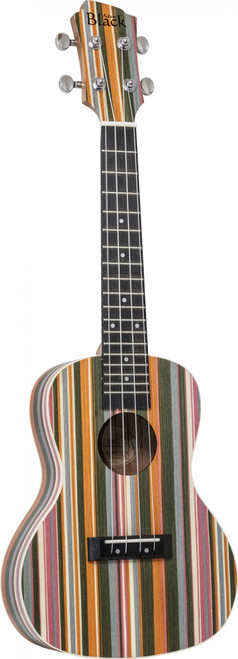 "<p>In stock and ready to ship at MorMusic</p><p>Seen it cheaper elsewhere? We'll aim to match or beat any like for like price!</p><div class=""short-description""> <div class=""std"">Nylon strung ukulele with a striking and unique rainbow design (not a print) on the front, back and sides.</div> </div> <div class=""add-to-cart-wrapper""> <ul> <li>Rainbow Tech Wood Top, Back &amp; Sides</li> <li>Okoume Neck</li> <li>Purple Heart Fingerboard</li> <li>Dot Inlays</li> <li>Purple Heart Bridge</li> <li>Ivory Body Binding</li> <li>Chrome Diecast<span>&nbsp;Sealed Machine Heads</span></li> <li>Nylon Strung with Aquila Strings</li> </ul> </div>"
