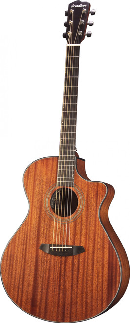 """<p>In stock and ready to ship at MorMusic</p> <p>Seen it cheaper elsewhere? We'll aim to match or beat any like for like price!</p> <p><span>As exotic tonewoods go, solid African mahogany is one of the greats. Visually, its straight grain is clean, alluring and warm. Its sound is the same, especially in a single species guitar like the Wildwood Concerto Satin CE. This guitar&rsquo;s 16&rdquo; mahogany top rings, with excellent note separation and a strong midrange presence. As an alternative to the ubiquity of spruce, all-mahogany instruments provide a thrilling change of pace, especially for young artists looking to establish their own unique voice. You will find your own path to uninhibited solid sound with a soft cutaway Wildwood Concerto Satin CE.</span></p> <ul> <li>Body Type: Concerto</li> <li>Neck Wood<span>:&nbsp;</span>African Mahogany</li> <li>Solid Wood Top<span>:&nbsp;</span>African Mahogany</li> <li>Solid Wood Back &amp; Sides<span>:&nbsp;</span>African Mahogany</li> <li>Top Finish<span>:&nbsp;</span>Satin (Mahogany Stain)</li> <li>Fretboard<span>:&nbsp;</span>Indian Laurel</li> <li># Frets<span>:&nbsp;</span>20</li> <li>Nut Width<span>: 1</span>.69""""</li> <li>Tuners Hardware<span>:&nbsp;</span>Premium Breedlove Chrome w/ Black buttons</li> <li>Lower Bout Width<span>:&nbsp;</span>16""""</li> <li>Waist Width<span>:&nbsp;</span>9.37""""</li> <li>Upper Bout Width<span>:&nbsp;</span>11.744""""</li> <li>Body Length<span>:&nbsp;</span>20.696""""</li> <li>Body Depth<span>:&nbsp;</span>3.75"""" (neck), 4.5"""" (tail)</li> <li>String Gauge<span>:&nbsp;</span>Olympia medium (.013""""-.056"""")</li> <li>Pickup<span>:&nbsp;</span>Breedlove Natural Sound (Microsonic VT HD 2-AAA)</li> <li>Bridge<span>:&nbsp;</span>Indian Laurel</li> <li>Binding<span>:&nbsp;</span>Tortoise (6mm)</li> <li>InlayOffset dots</li> <li>Scale Length<span>:&nbsp;</span>25.59""""</li> <li>Sound Hole<span>:&nbsp;</span>3.74""""</li> <li></li> </ul>"""