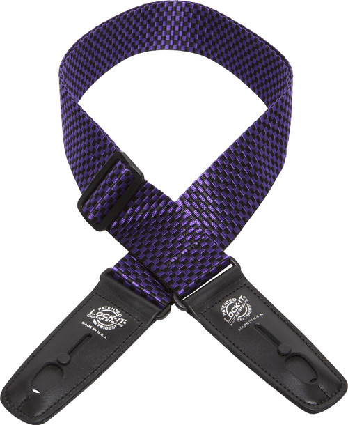 Lock-It Guitar Straps provide fast, secure and reliable locking guitar straps with a patented locking technology that is extremely simple, yet astonishingly effective. Perfect for musicians that don't like the idea of modifying their guitars. Lock-It Guitar Straps securely fit on to all standard end-pins.