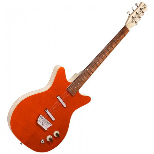 DANELECTRO '59 DIVINE ELECTRIC GUITAR - FLAME MAPLE