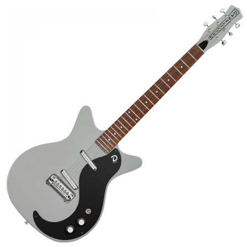 DANELECTRO '59M NOS ELECTRIC GUITAR - ICE GREY - SPECIAL OFFER!!
