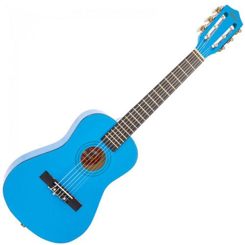 ENCORE 1/2 SIZE JUNIOR ACOUSTIC GUITAR PACK ~ METALLIC BLUE