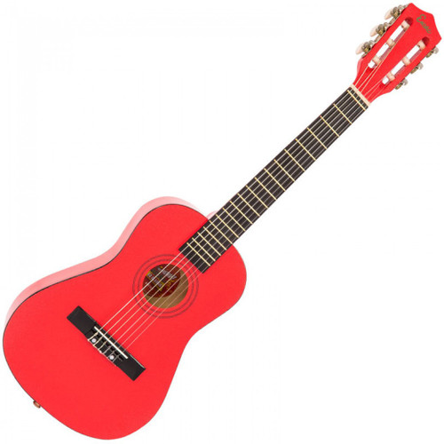 ENCORE 1/2 SIZE JUNIOR ACOUSTIC GUITAR PACK ~ METALLIC RED