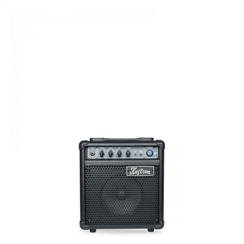 "KUSTOM KXB SERIES BASS AMP 1 X 6"" WITH 3 BAND EQ - 10W"