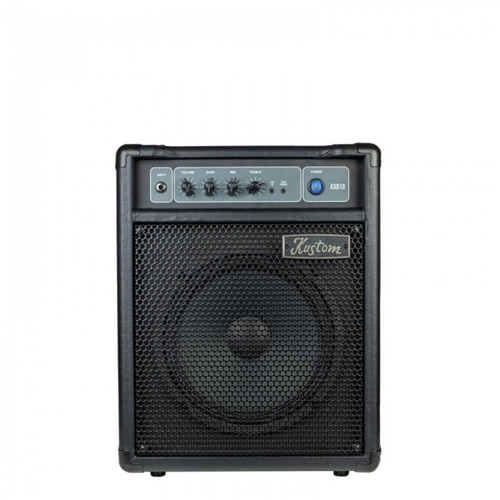 "KUSTOM KXB SERIES BASS AMP 1 X 10"" WITH 3 BAND EQ - 10W"